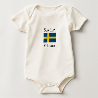 Swedish Princess Baby Bodysuit