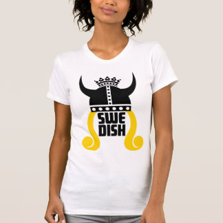 Swedish Princess Funny Ladies Destroyed T-Shirt