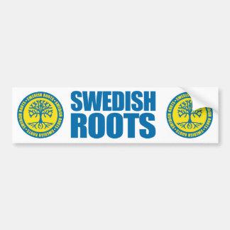 Swedish Roots Bumper Stickers