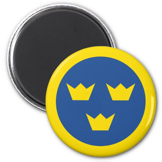 Swedish Roundel Magnet