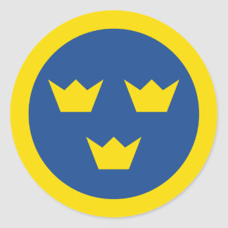 Swedish Roundel sticker
