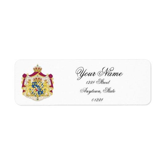 Swedish Royalty Personalise