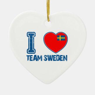 SWEDISH sport designs Ornaments