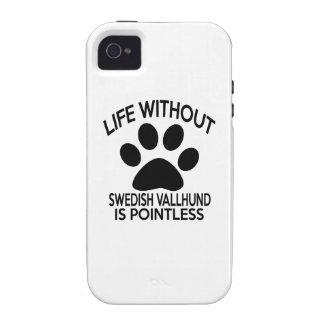 SWEDISH VALLHUND DESIGNS VIBE iPhone 4 CASE