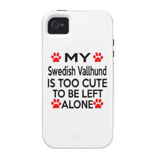 Swedish Vallhund Designs iPhone 4 Covers