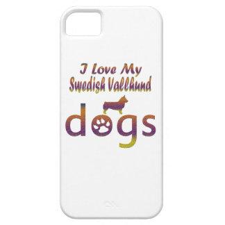 Swedish Vallhund designs iPhone 5 Covers