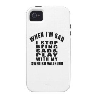 SWEDISH VALLHUND Designs iPhone 4/4S Case