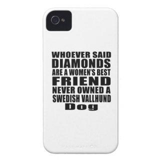 SWEDISH VALLHUND DOG BEST FRIEND DESIGNS Case-Mate iPhone 4 CASE