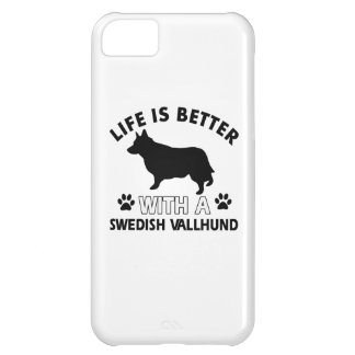 Swedish Vallhund dog breed designs iPhone 5C Case