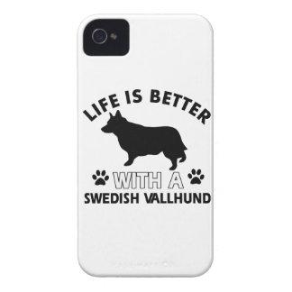 Swedish Vallhund dog breed designs iPhone 4 Case
