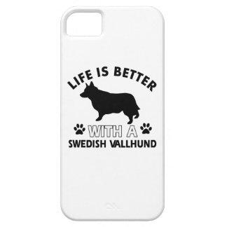 Swedish Vallhund dog breed designs iPhone 5 Covers