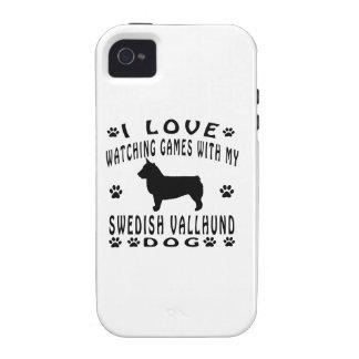 Swedish Vallhund Dog Design iPhone 4/4S Cases