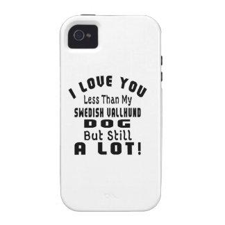 SWEDISH VALLHUND. FUNNY DESIGNS iPhone 4/4S CASE