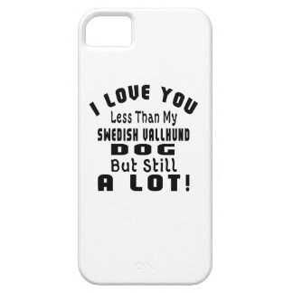 SWEDISH VALLHUND. FUNNY DESIGNS iPhone 5 CASES
