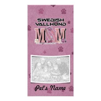Swedish Vallhund MOM Custom Photo Card