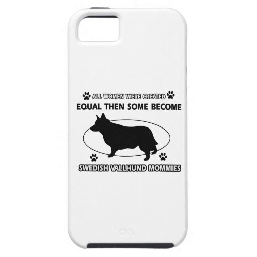 swedish vallhund Mommy Design Cover For iPhone 5/5S