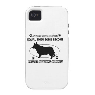 swedish vallhund Mommy Design iPhone 4 Cover