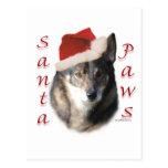 Swedish Vallhund Santa Paws Post Cards