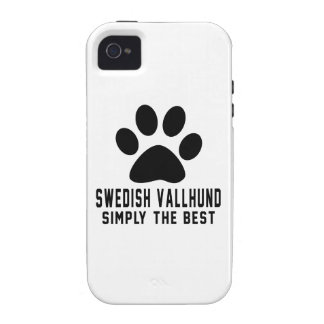 Swedish vallhund Simply the best iPhone 4 Cover