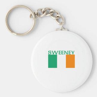 Sweeney Basic Round Button Key Ring