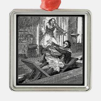 Sweeney Todd-Barbers Chair-Penny Dreadful Christmas Ornament