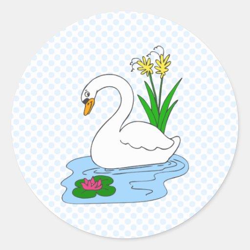 Sweenie Swan Sticker