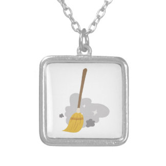 Sweep Broom Custom Necklace