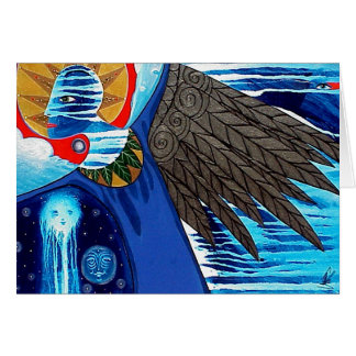 Sweeping Wings by Gregory Gallo Greeting Card