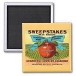 Sweepstakes Apples Fridge Magnets