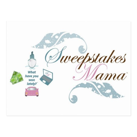 Sweepstakes Mama Gear Postcard