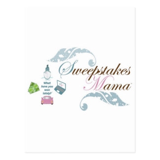 Sweepstakes Mama Gear Postcards