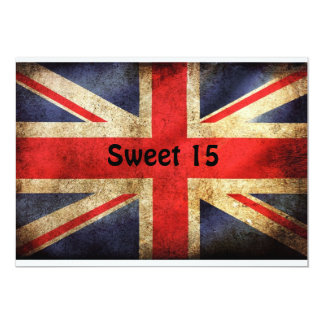 Sweet 15 13 cm x 18 cm invitation card