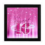 Sweet 16 All Stars Large Square Gift Box