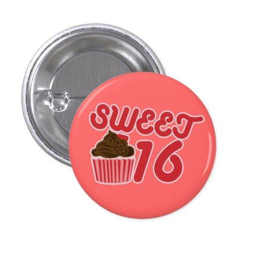 Sweet 16 buttons
