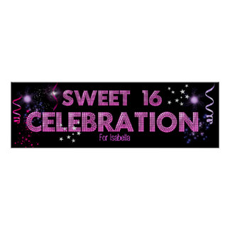 Sweet 16 Banner Poster