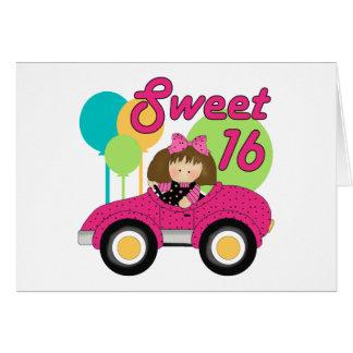Sweet 16 Birthday Greeting Card