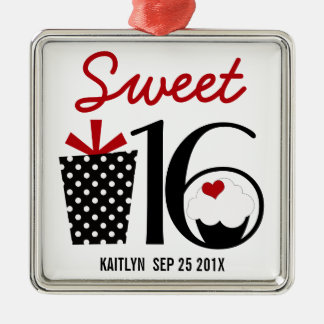 Sweet 16 Birthday personalized Keepsake Christmas Ornament
