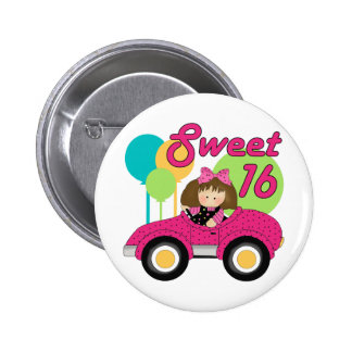 Sweet 16 Birthday Pinback Button