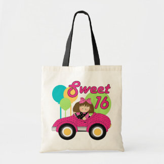 Sweet 16 Birthday Tote Bag