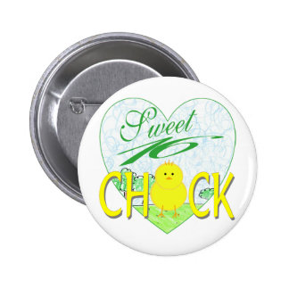 Sweet 16 Chick Pinback Buttons