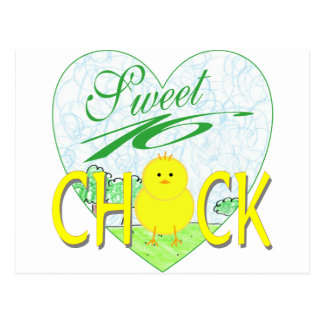 Sweet 16 Chick Postcard