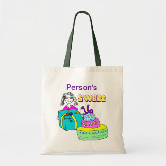 Sweet 16 Customizable Tote Bag