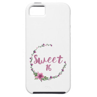 Sweet 16 Flowers iPhone 5 Covers