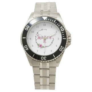 Sweet 16 Flowers Watch