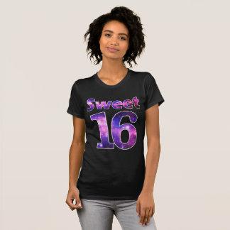 Sweet 16 Galaxy Stars Birthday Girl Party Shirt