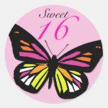 Sweet 16 Matching Butterfly Sticker