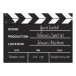 Sweet 16 movie clapboard custom announcement