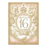 Sweet 16 Once Upon a Time Princess Invitation