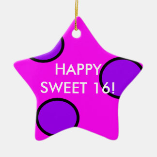 Sweet 16 Ornament