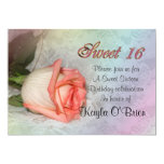 Sweet 16 rose Invitation